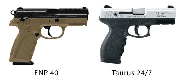 40 Caliber Handguns