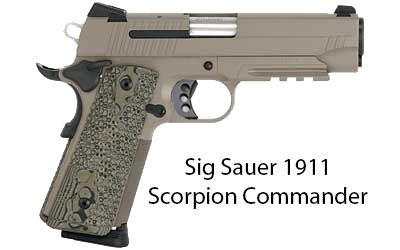 Sig Sauer 1911 Scorpion