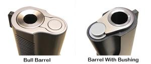 Bull Barrel vs. Barrel Bushing
