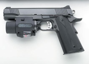 Handgun With Rail