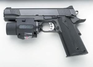 Handgun With Rail