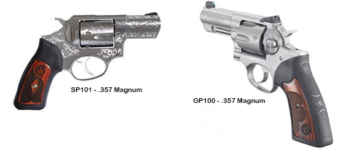 Ruger Double Actions