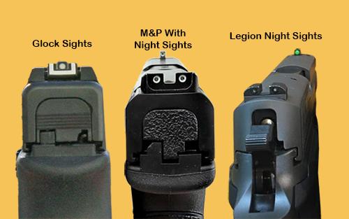Handgun Sight Differences