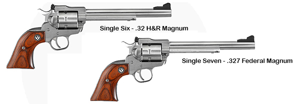 Ruger Single Six and Single Seven