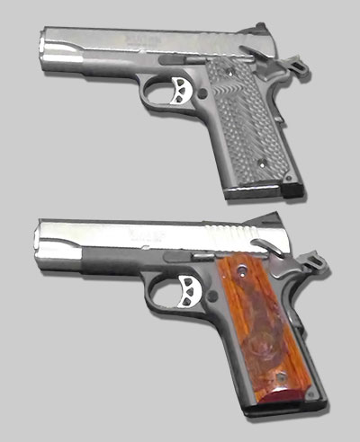 Ruger 9mm and 45ACP 1911s