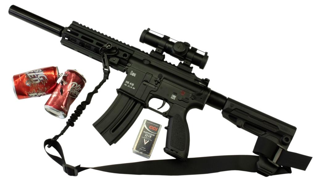 HK16 .22 LR Pistol