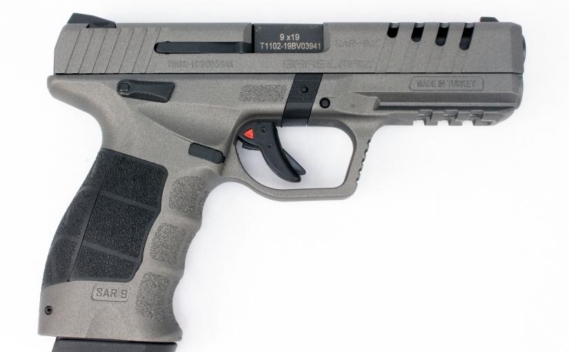 SAR9X — A New 9mm TurkishDelight