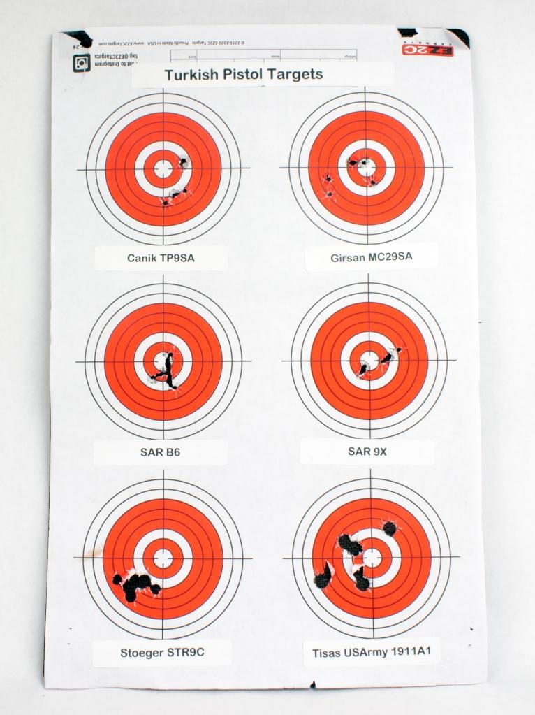 Turkish Pistol Targets