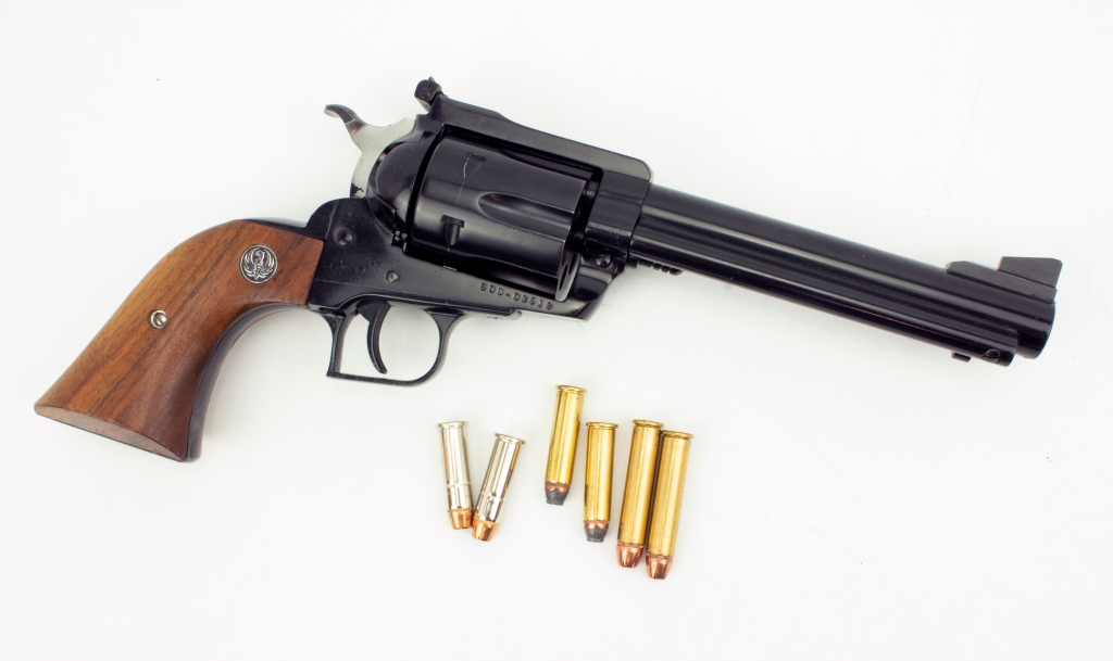 This Blackhawk Will Shoot .38 Special, .357 Magnum or .357 Maximum
